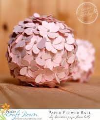 Hanging Paper Flower Balls Paper Flower Ball Pazzles Craft Room