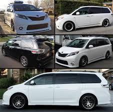 Amazon.com: FITS 2011-2016 TOYOTA SIENNA JDM SMOKE TINTED WINDOW ...