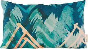 turquoise decorative pillows. Modren Pillows Winter Home Yakima Decorative Pillow  1 Item On Turquoise Pillows C