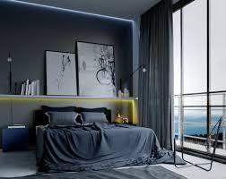 Contemporary Man%C2%B4s Bedroom