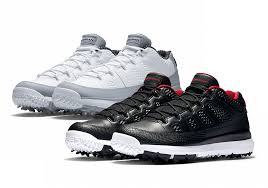 jordan shoes 9. jordan brand is honoring michael jordan\u0027s love for the game of golf with two new air 9 low cleats available later today from nike shoes r
