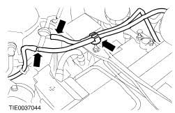 ford workshop manuals > fiesta > mechanical connect the two vacuum hoses