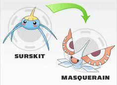 Surskit Evolution Chart 17 Best Pokemon Evolutions Images In 2019 Pokemon