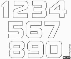 Kleurplaten Nummers Kleurplaat