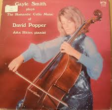 Gayle Smith, David Popper - Gayle Smith Plays the Romantic Cello Music of  David Popper with John Ritter on the Piano (1974 Vinyl Record) - Amazon.com  Music