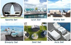 skyline outdoor furniture modern outdoor furniture collection dining table sets sofa sets