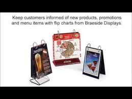 Menu Flip Charts Flip Charts From Braeside Displays