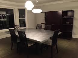 zinc dining room table. Full Size Of Decorations: Zinc Top Railway Trestle Rectangular Dining Table Beautifying Your Room N