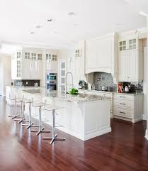 White Kitchen Wooden Floor 44 Kitchens With Double Wall Ovens Photo Examples