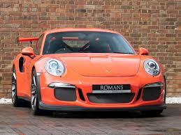 2016 Used Porsche 911 Gt3 Rs Pdk | Lava Orange