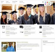 College Templates 10 Best College Website Joomla Templates Themes Free