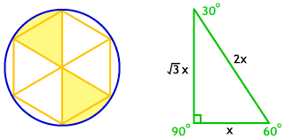 inscribed circles and hexagons geometry problems inscribed  geometric properties