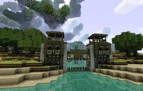 minecraft gate design. Beautiful Gate Water Gate Adventura Version And Minecraft Design