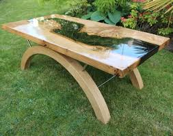 oak river coffee table for the