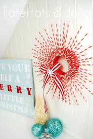 ribbon decorating ideas red wreath