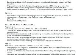 Resume On Google Docs Magnificent Resume Examples For Retail Administrative Assistant Samples Related