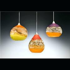 hand blown glass pendant lights sydney
