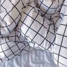 pajamas blanket bedding black and white bedding checd pale home accessory grid bedding bedding black white tank top halter neck top