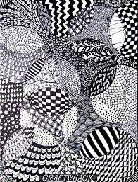 Zentangle Patterns For Beginners Extraordinary Totally Easy Zentangle Craftwhack