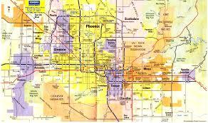 phoenix map  travelsfinderscom ®