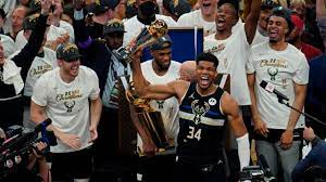 Milwaukee Bucks' 50-year wait ends with a title behind 50 from Giannis