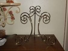 Wire Plate Stands For Display Brass Display Plate Stands eBay 66
