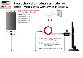 wrg 7916 hdmi wiring diagram problems amazon com mhl micro usb to hdmi tv adapter cable for samsung galaxy tab