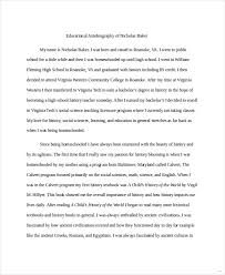 sample of autobiography effortless see example self biography  39 sample of autobiography helpful sample of autobiography impression capture educational example medium image