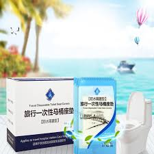 Disposable Toilet 100 Waterproof Disposable Toilet Seat Cover 50 Pcs Free