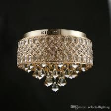 luxury crystal chandelier gold crystal ceiling mount light fixture living room bedroom e12 e14 lights 110v 220v d 15 x h 12 modern crystal chandelier flush