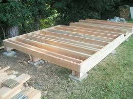 timber garden office. Floor Joists Of Douglas Fir Or Larch. Posts Allow For Building On A Sloping Site Timber Garden Office S