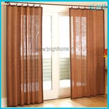 sliding doors living room sliding door curtains