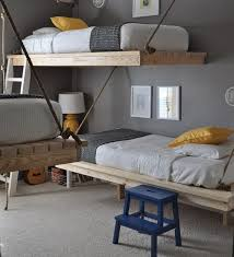 Perfect Cottage beds Hanging Rope Beds | 16 Totally Feasible Loft Beds For  Normal Ceiling Heights