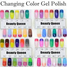 FAST Changing Gel color Chameleon Nail Gel Polish Soak Off UV Led Color  Changed