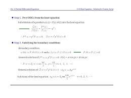 two odes from the heat equation