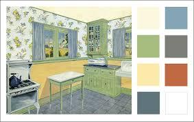 kitchen paint schemes1929 Kitchen Color Scheme  Vintage Color  Antique Home  Style