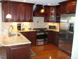 kitchen cabinets with granite countertops:  cherry kitchen cabinets with granite countertops dark cherry
