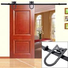 Wood sliding patio doors Vinyl Ft Sliding Door Black Antique Horseshoe Barn Wood Sliding Door Hardware Track Set Kit Ft Sliding Screen Door Ft Sliding Patio Doors Incrediblebizreviewsinfo Ft Sliding Door Black Antique Horseshoe Barn Wood Sliding Door