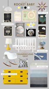 outer space nursery. Plain Nursery With This Much Great Stuff Going On In Nursery Who Needs A Crib  Bumper Love The Eames Rocker And Pops Of Yellow Truly Out World  Throughout Outer Space Nursery T