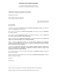 Address Format Standard Business Letter Format Sample Business