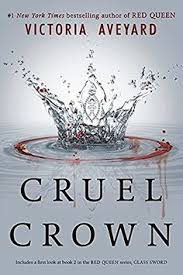 cruel crown red queen novellas queen song stars an interesting prequel but too short and left a lot of loose ends steel scars stars didn t like the