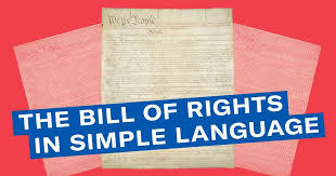 Bill of Rights in Simple Language | ACLU Delaware