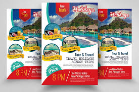 Holiday Tourtravel Flyer Template