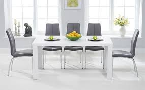 white dining room table. Artistic High Gloss Dining Table Sets Great Furniture Trading Company On White Cool Room