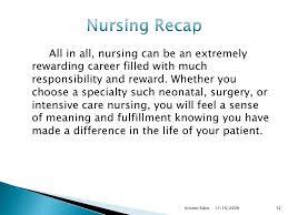 Why Choose Nursing
