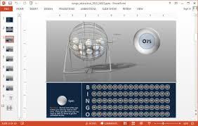 Free Interactive Ppt Templates Interactive Bingo Powerpoint Template