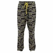 Details About Batman Glow In The Dark Pajama Lounge Pants W Pockets Dc Comics Free Ship