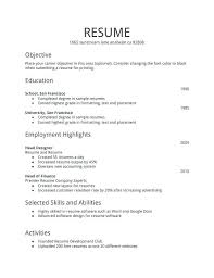 How To Make Simple Resume For A Job How To Make Simple Resume Foodcity Me