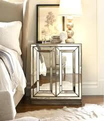 round mirrored side table round mirrored side table with shelves gold reflect bedside faceted mirror side
