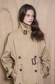 oversized trench coat by people women s khaki